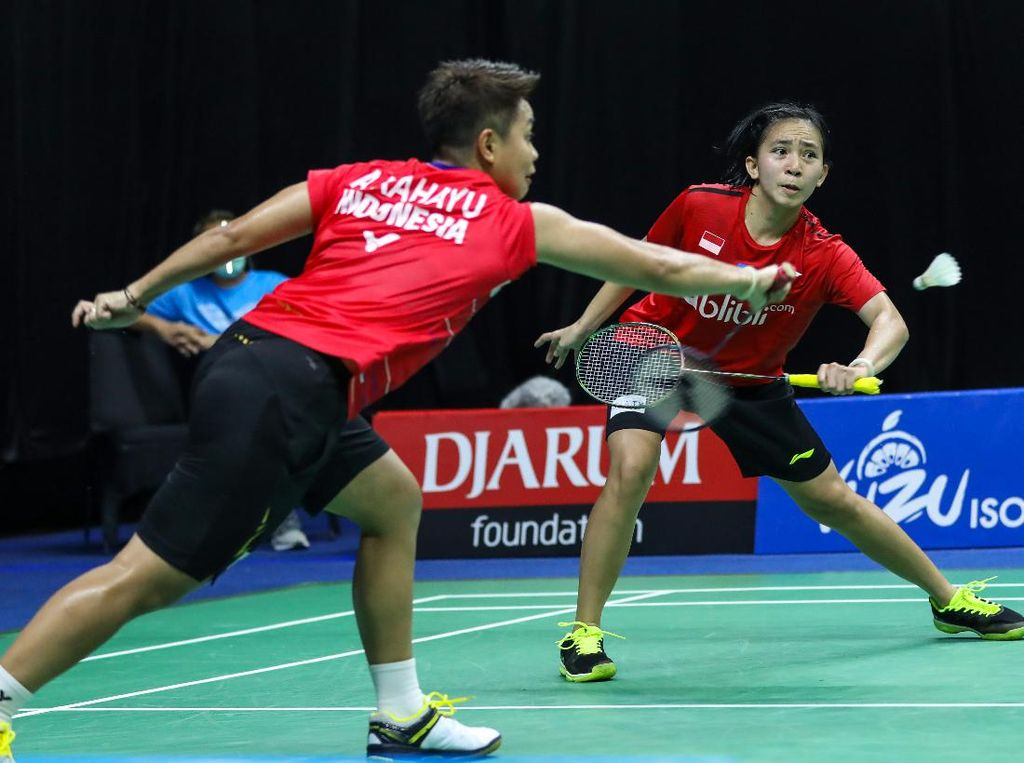 Link Live Streaming Semifinal dan Final PBSI Home Tournament Ganda Putri