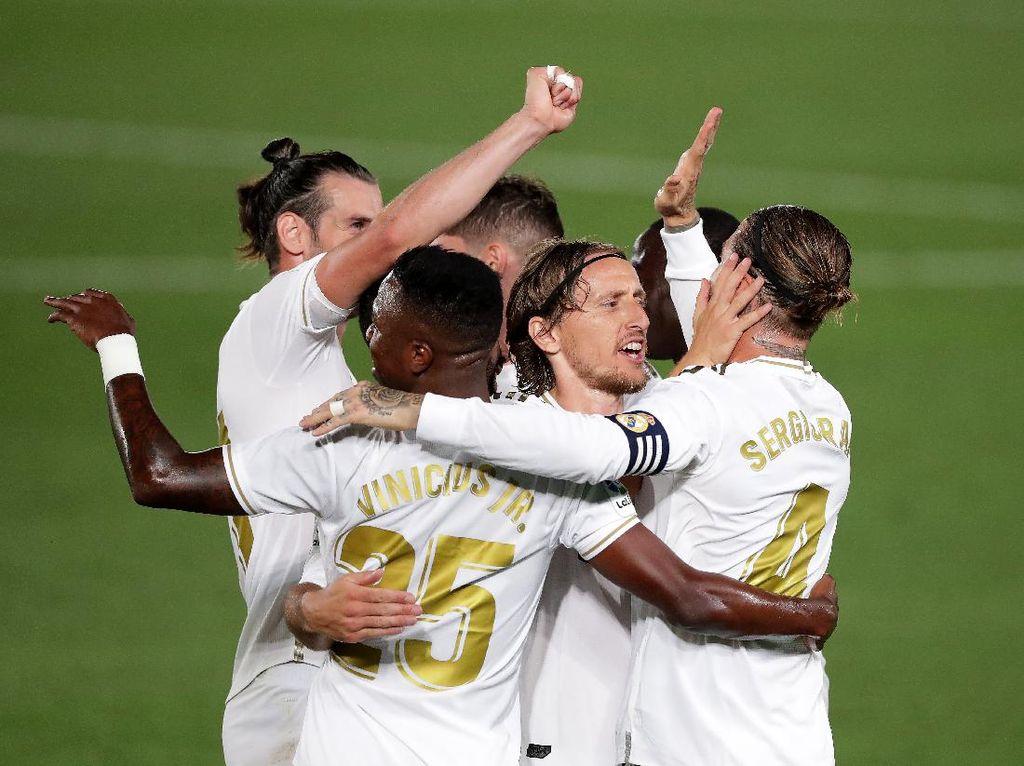 Susunan Pemain Real Madrid vs Villarreal