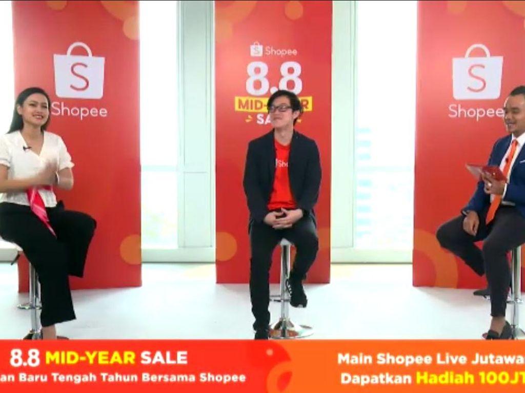 Ikut Shopee Live Jutawan Bisa Dapat Rp 100 Juta Tiap Hari, Ini Caranya