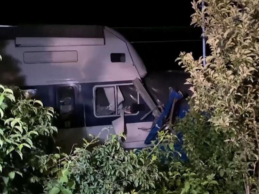 Tabrakan Kereta Terjadi di Ceko, Puluhan Orang Terluka