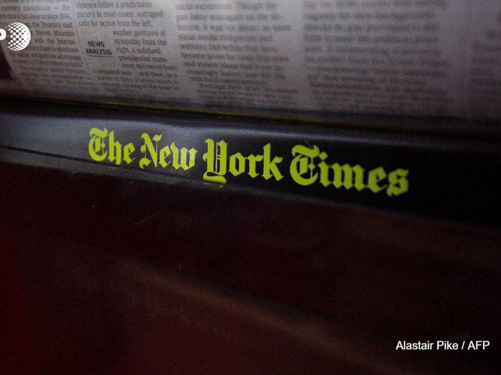 Relokasi Besar-besaran New York Times dari Hong Kong Gegara UU Keamanan