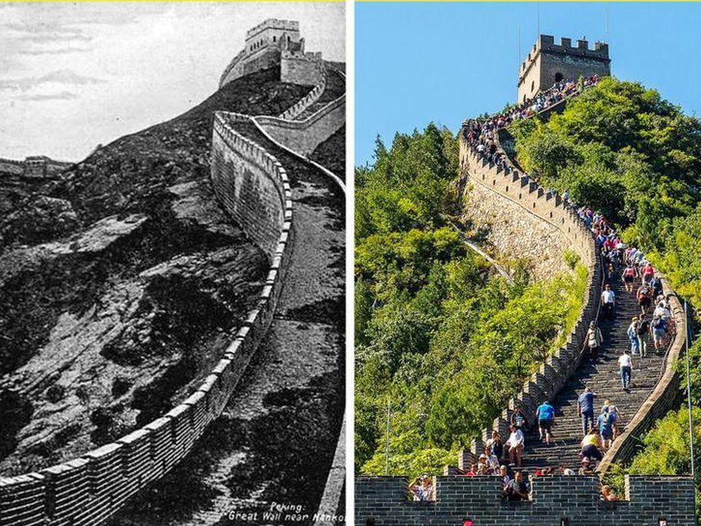 Perbandingan Wajah Dunia 100 Tahun Lalu dan Sekarang