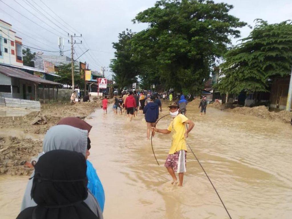 Banjir Bandang Terjang Luwu Utara, XL Pastikan Jaringannya Masih On