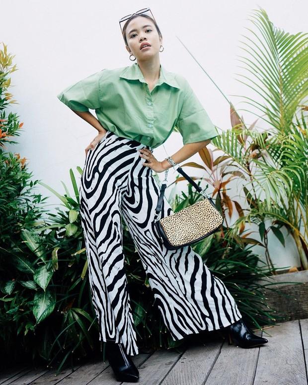 Gaya Influencer cantik Maudy Amadea di Bali