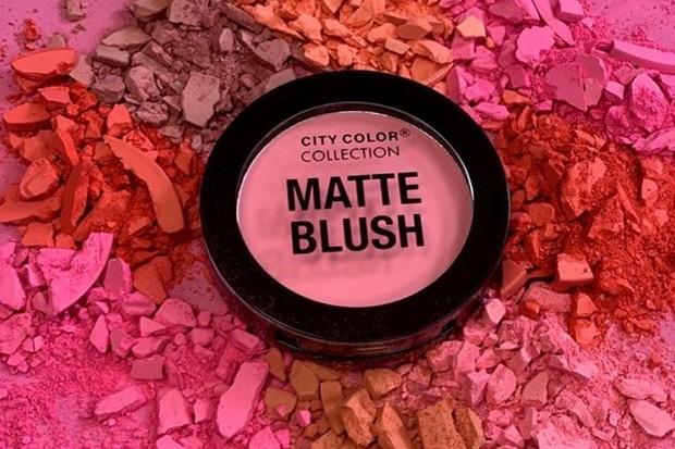 City Color Matte Blush makeup yang cocok untuk semua jenis kulit