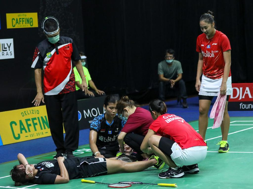 Cedera, Agatha Imanuela Mundur dari PBSI Home Tournament