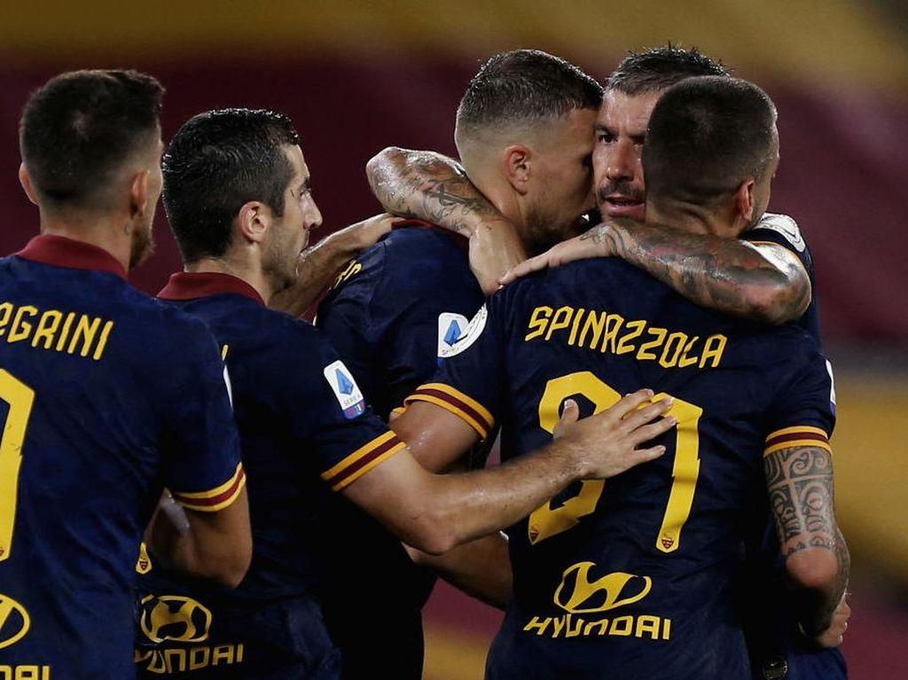 Hasil Liga Italia: Roma Tumbangkan Verona, Lazio Imbang dengan Udinese