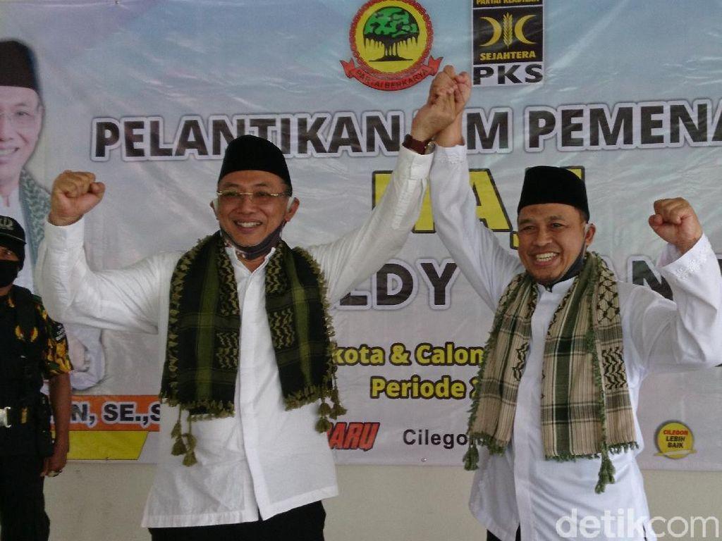 KPU Tetapkan Helldy-Sanuji Jadi Wali Kota-Wakil Wali Kota Cilegon Terpilih