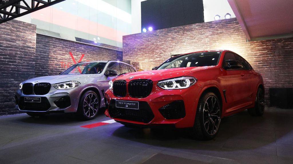 Lebih Gahar, BMW Luncurkan X3 dan X4 M Competition