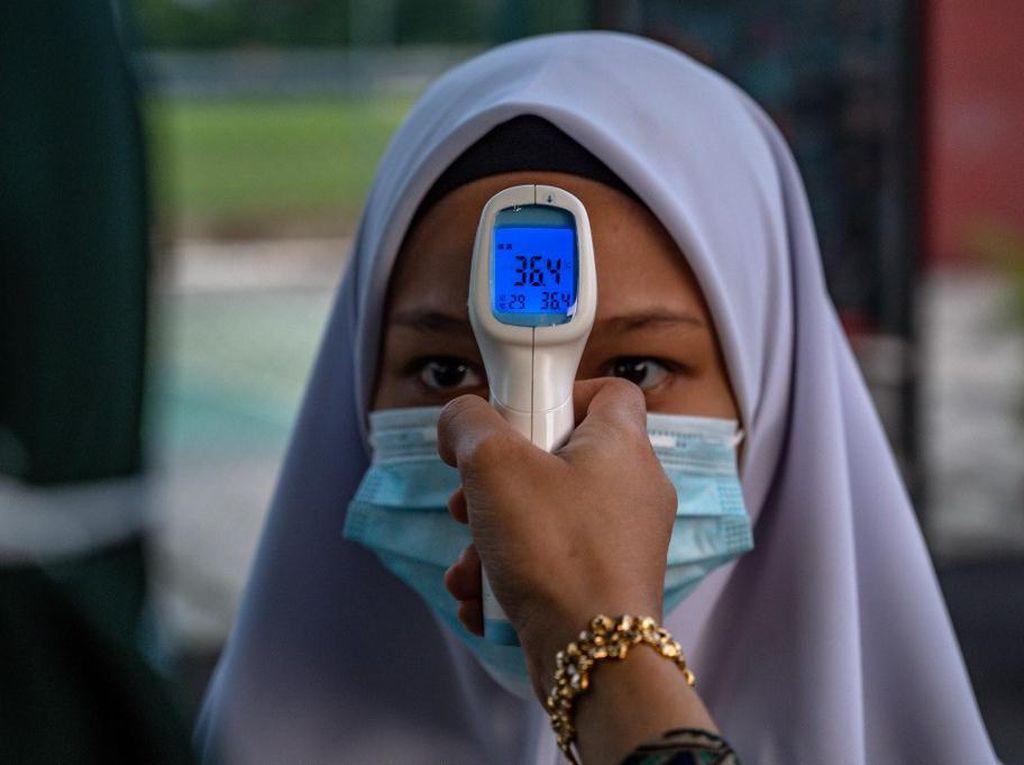 Kembali ke Sekolah Saat Pandemi Corona, Siswa Malaysia Tetap Tenang
