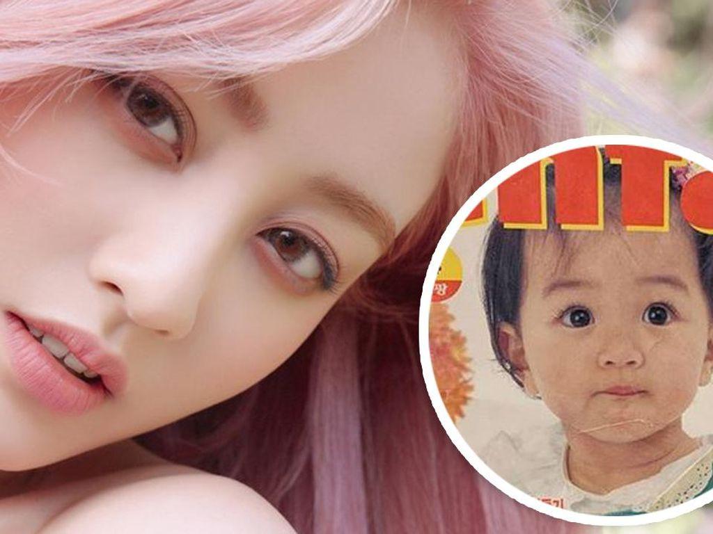 Jihyo TWICE Rayakan 15 Tahun di JYP, Terbukti Cantik dari Kecil!