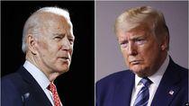 Trump dan Biden Berebut Simpati Warga Kulit Hitam di Debat Capres AS
