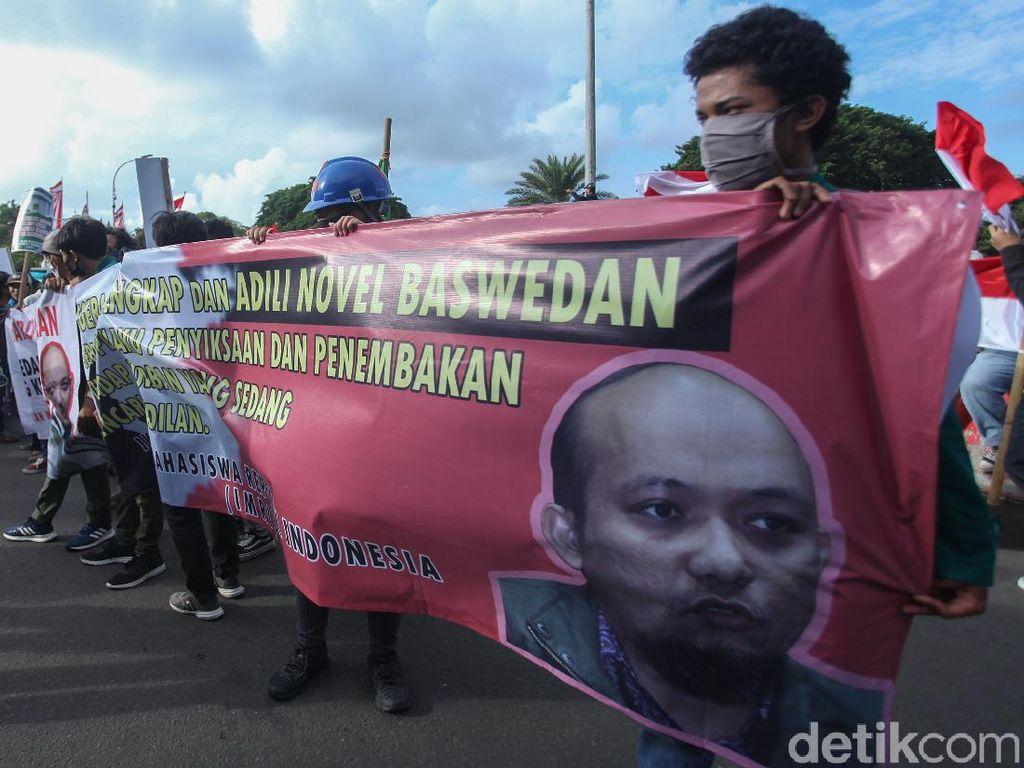 Mahasiswa Kembali Gelar Demo di Depan Istana