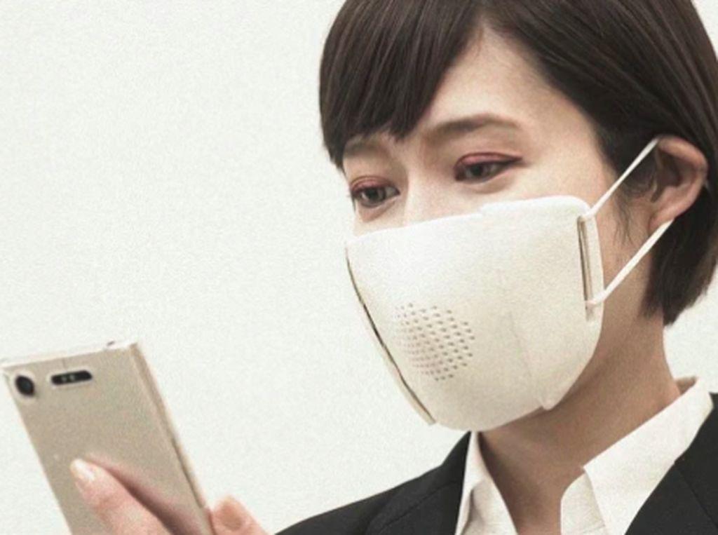 Masker Corona Canggih! Bisa Tangkal Virus dan Jadi Translator