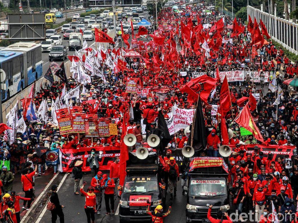 Tolak Omnibus Law Cipta Kerja, Buruh akan Mogok Nasional 3 Hari