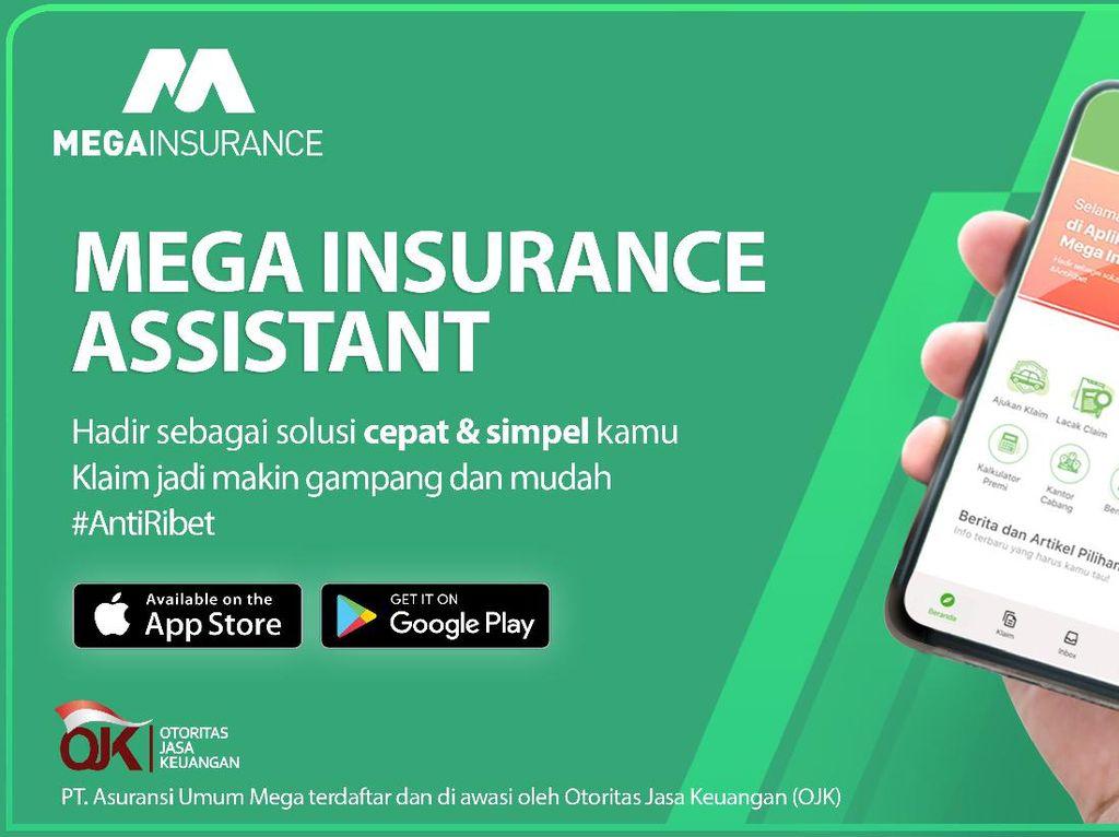 Mega Insurance Permudah Klaim Asuransi Kendaraan Online
