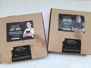 Semua Orang Kini Bisa Makan Masakan Chef Juna dan Chef William Gozali