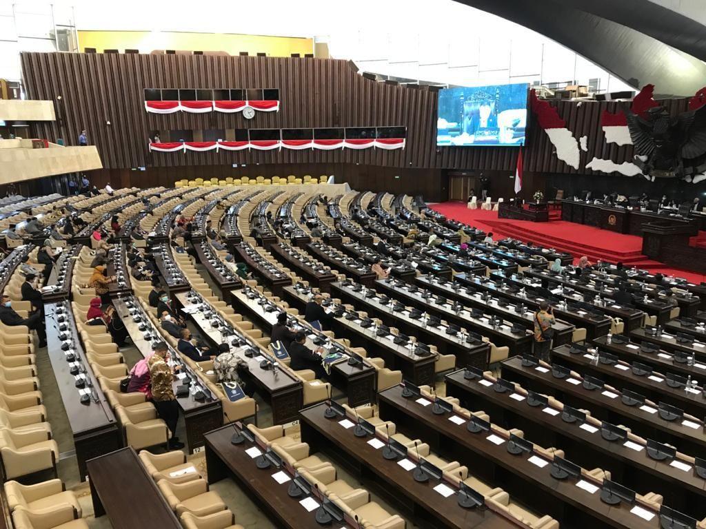 227 Anggota DPR Absen Paripurna Penutupan Masa Sidang Hari Ini