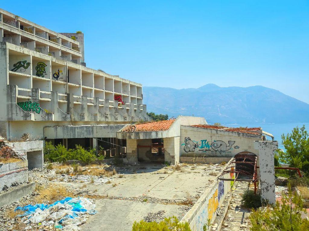 Komplek Hotel Berhantu di Kroasia, Ditinggalkan Gara-gara Perang