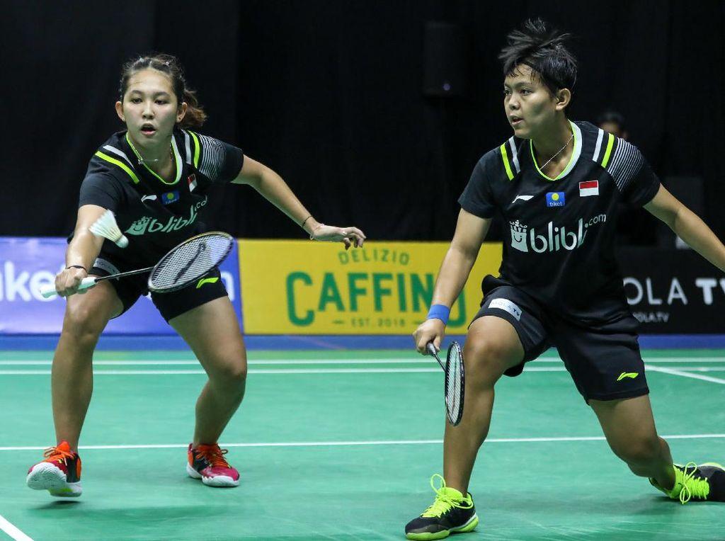 Hasil Perempatfinal PBSI Home Tournament Ganda Putri