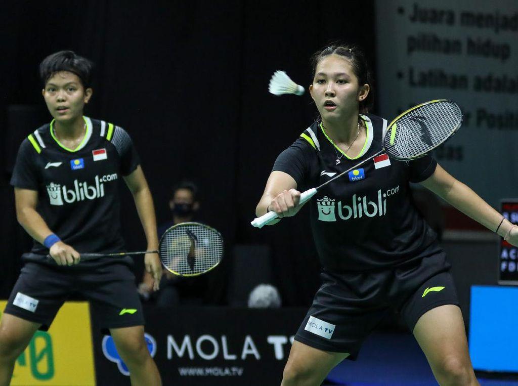 Hasil PBSI Home Tournament Babak Semifinal Ganda Putri