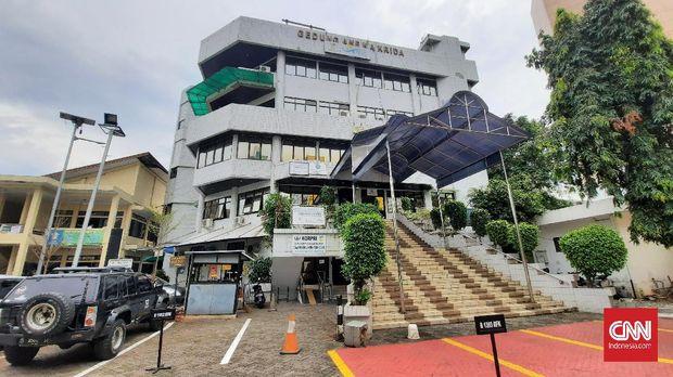 Sekretariat Komnas Lansia, Rabu (15/7). Komnas Lansia menurut salah satu bekas pegawai lembaga itu telah dibubarkan oleh Kemenpan-RB sejak 2018.