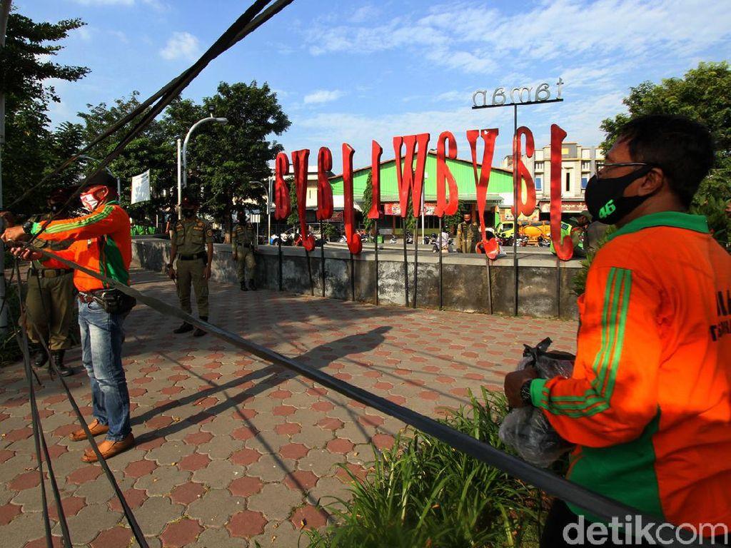 Sempat Ramai Warga, Taman Jayawijaya di Solo Ditutup