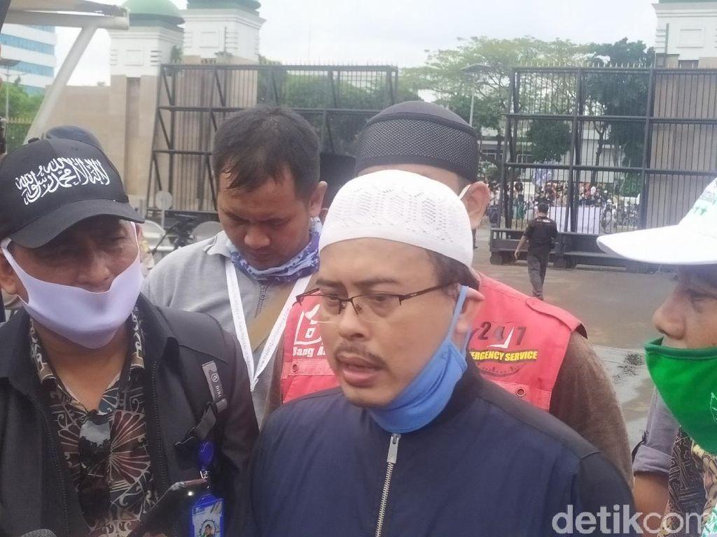 Perwakilan Demo PA 212 dkk Temui Pimpinan DPR, Minta RUU HIP Dibatalkan