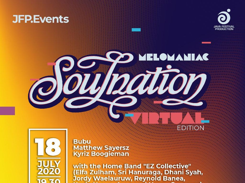 Soulnation Balik Lagi dalam Format Virtual