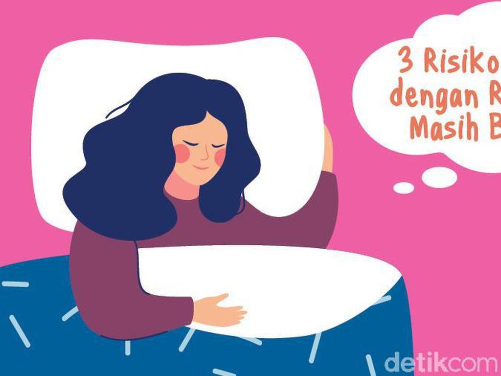Tak Dianjurkan Tidur dengan Rambut Basah, Ini Risikonya