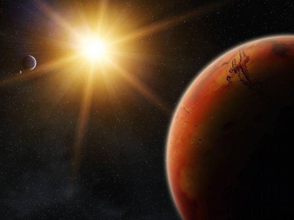 Planet Mars Dekati Bumi Hari Ini, Ini Dampaknya