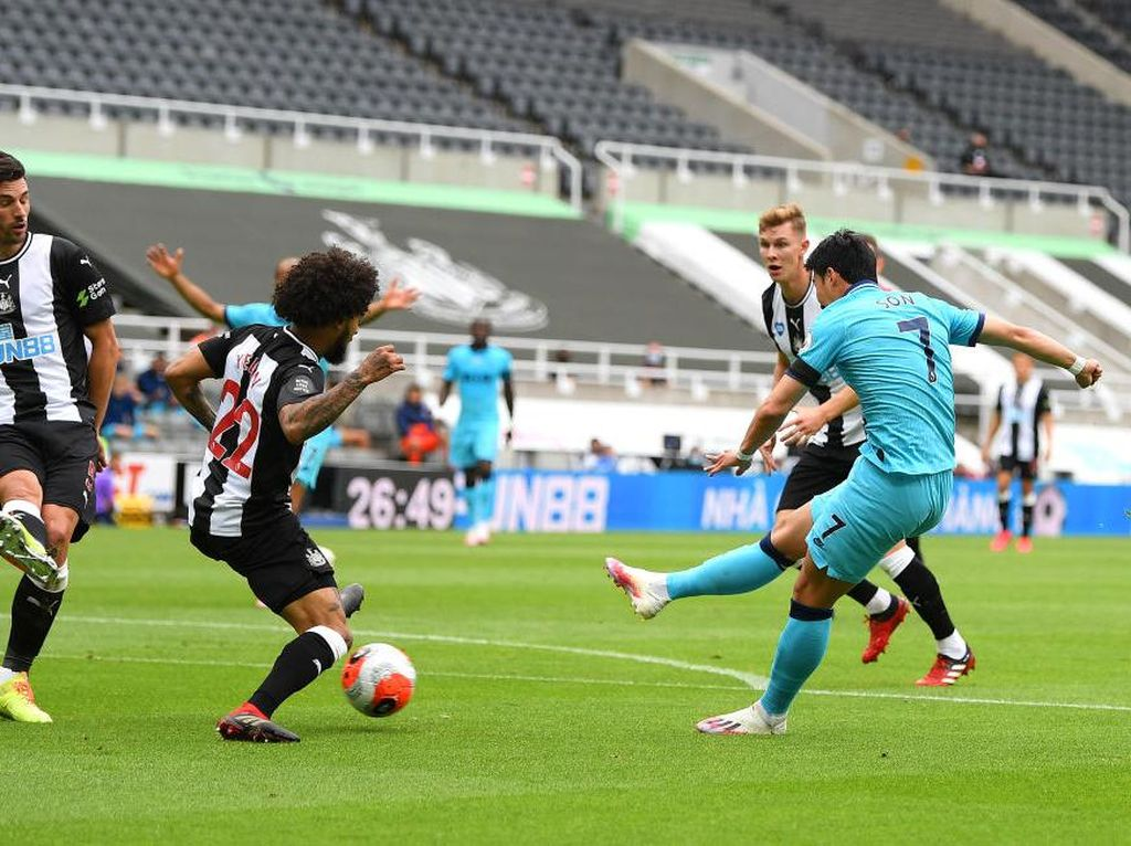 Babak I Newcastle Vs Tottenham: Son Bawa Tim Tamu Unggul