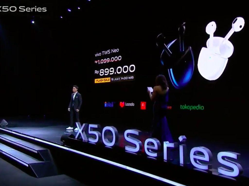 TWS Neo Lengkapi Vivo X50 Series, Harga Rp 1 Jutaan