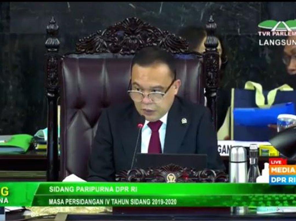 Pimpinan DPR Minta Paripurna Selesai Cepat Agar Massa Demo Pulang