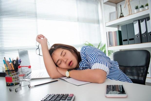 Mulai lelah di tempat kerja