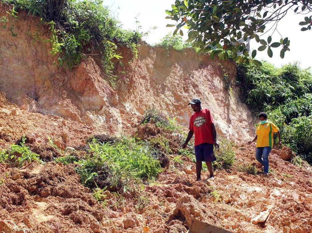 4 Orang Tewas Imbas Longsor di Kota Sorong