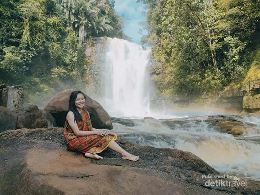 Satu Lagi, Air Terjun Menawan dari Tanah Kalimantan