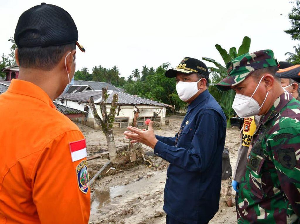 Banjir di Luwu Utara, Gubernur Sulsel Fokus Penyelamatan dan Logistik