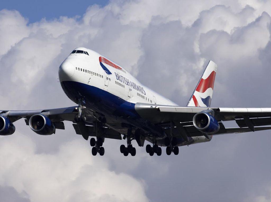 British Airways Pensiunkan Semua Armada Ratu Langitnya