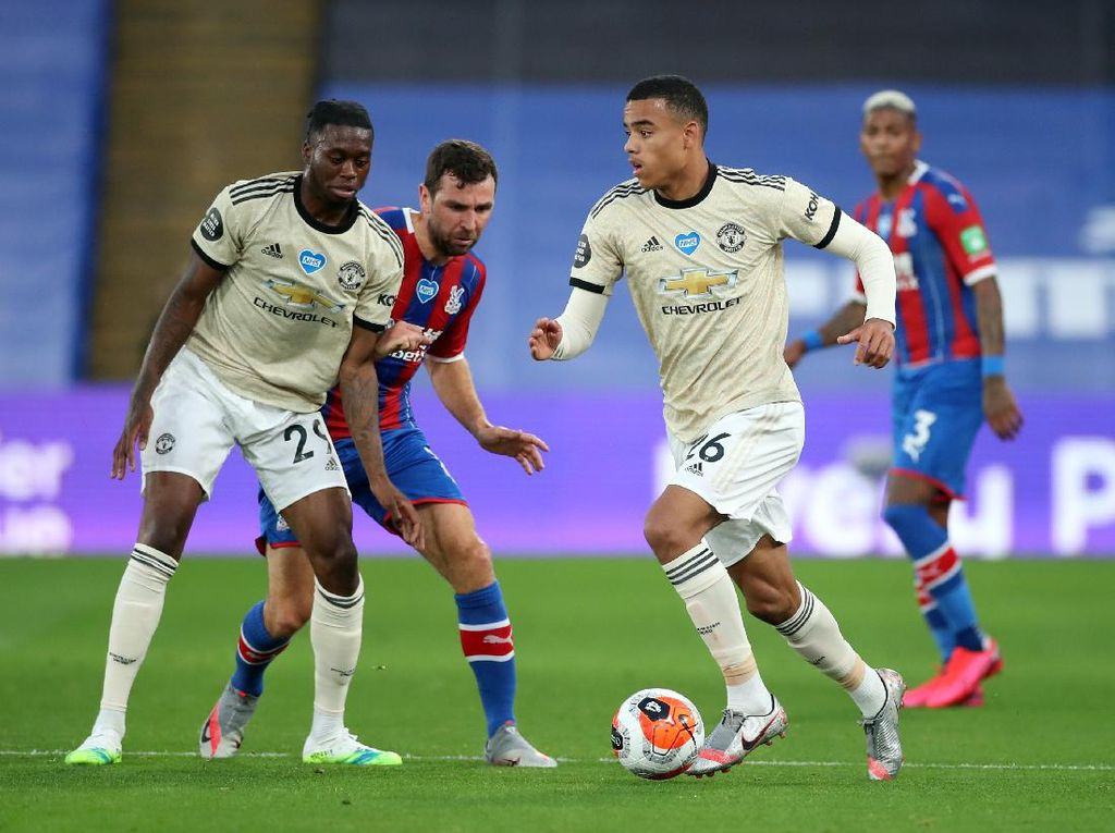 Man United Unggul 1-0 Atas Crystal Palace di Babak Pertama
