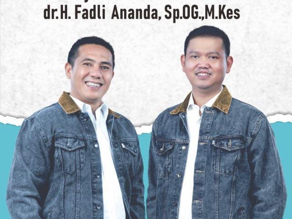 Sah! PDIP Usung Deng Ical-dr Fadli di Pilwalkot Makassar