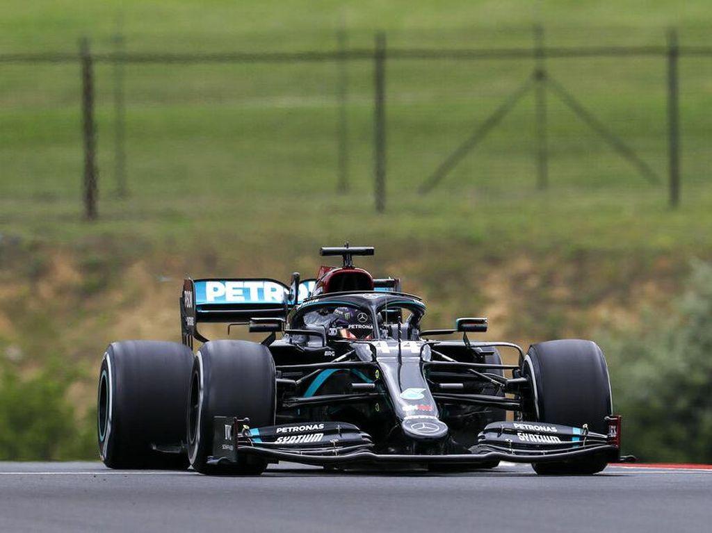 Free Practice I F1 GP Hongaria: Mercedes Berkuasa, Hamilton Tercepat