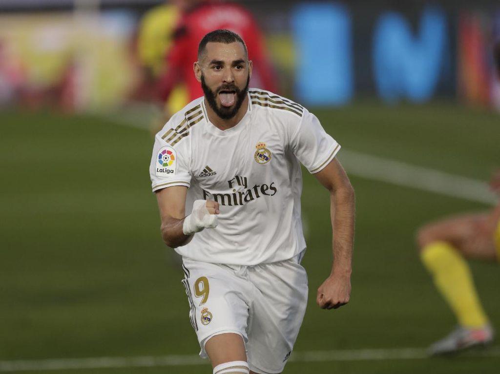 Real Madrid Gasak Getafe 6-0 di Laga Uji Coba, Benzema Quat-trick