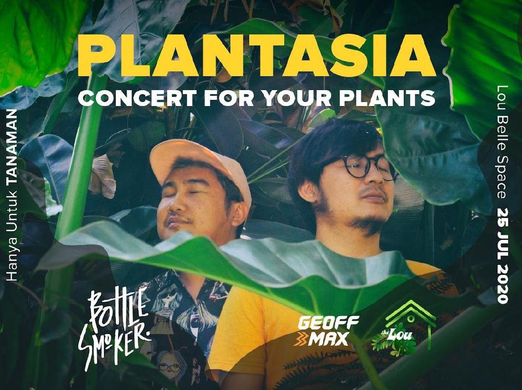 Bottlesmoker Gelar Konser Plantasia, Khusus untuk Tanaman