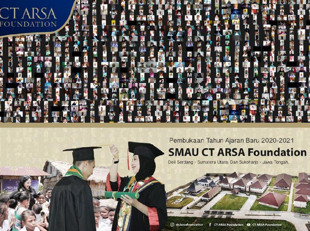Buka Tahun Ajaran Baru Sekolah Unggulan, Ketua CT ARSA Tekankan Pentingnya Pendidikan