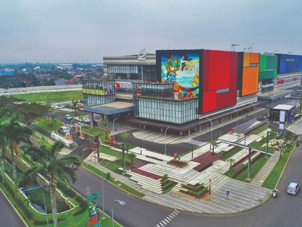 Mal Senilai Rp 1 Triliun Diluncurkan di Tangerang