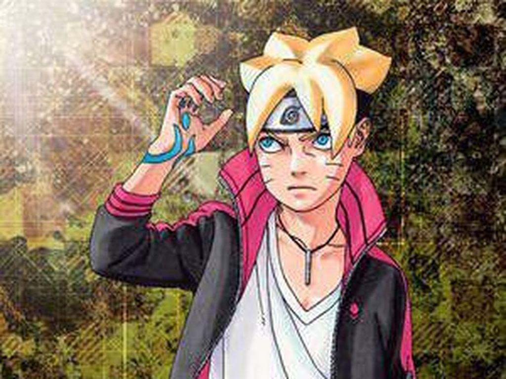 Sasuke Kenalkan Senjata Kunai Boruto di Novel Terbaru