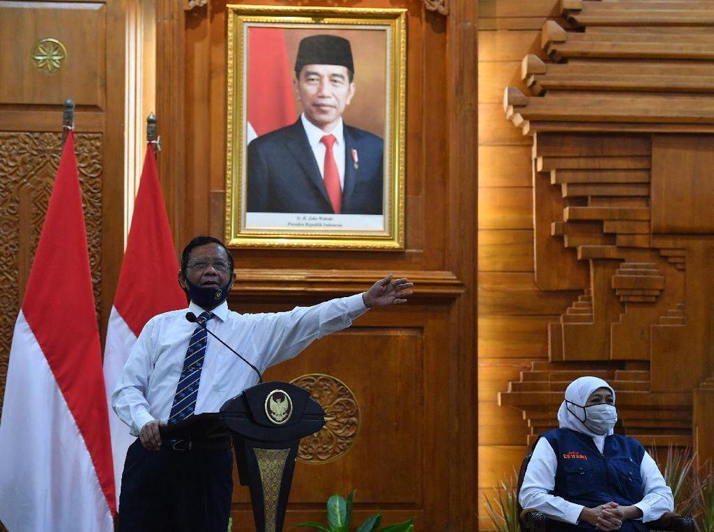 Disindir Presiden PKS soal Penegakan Hukum, Ini Penjelasan Mahfud Md