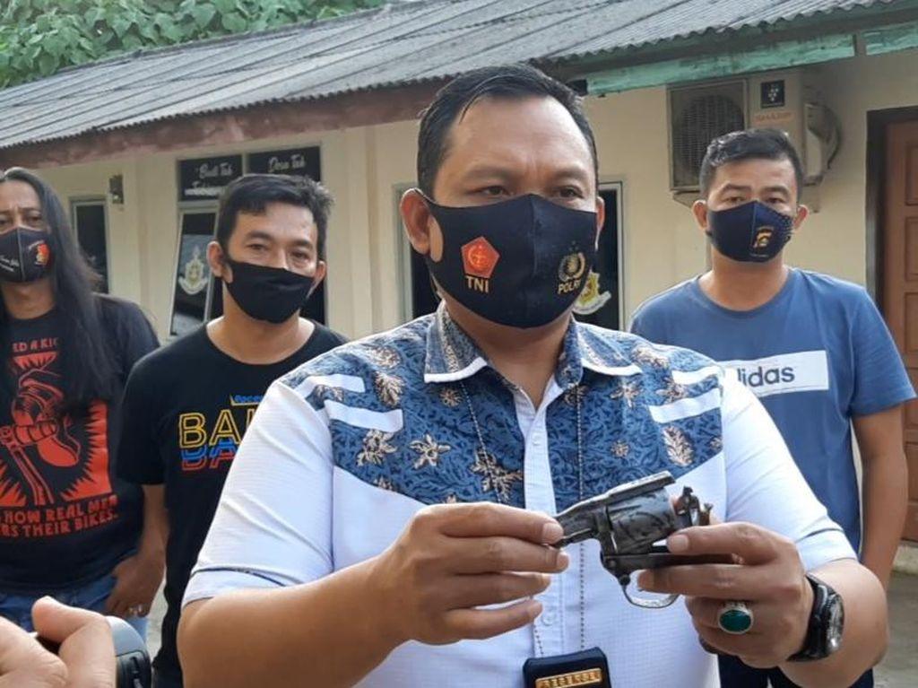 Jual Senpi Rakitan Rp 3 Juta, Residivis di Palembang Kembali Ditangkap