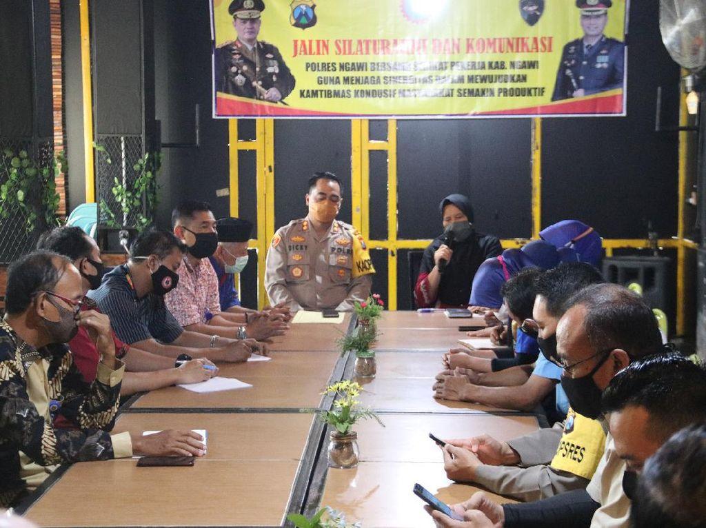 SPSI Ngawi Sepakat Tak Terpancing Ikut Unras Tolak RUU Omnibus Law